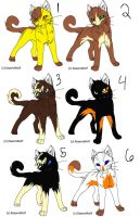 Warrior Cats Adopt 2 CLOSED by Character-Shelter
