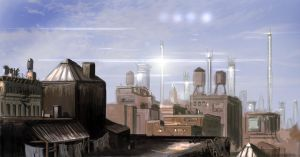 Toronto redevelop Concept drawing by BoxofLizards