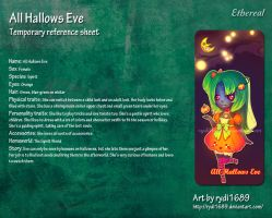All Hallows Eve ref sheet by Stygma