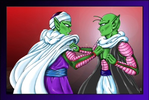 Piccolo and Nail - PS by Kieri