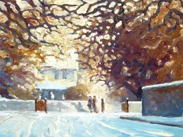 Winter Afternoon Lansworth by litka