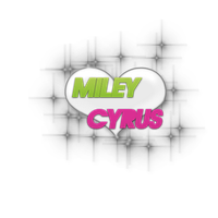 Texto PNG Miley Cyrus by kthiitha