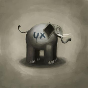 A UX elephant... by paololimoncelli