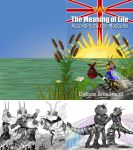 The Meaning of Life according to the mosquito by x-Pixelpixie-x