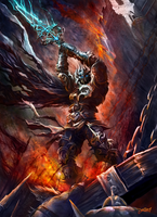 Rage of the Death Knight by loztvampir3