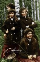 Grand Duchesses in Finland by VelkokneznaMaria