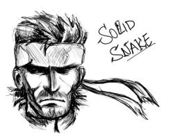 Solid Snake by Cresselia