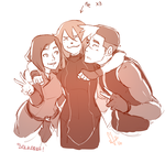 Huging My Babies! by SolKorra