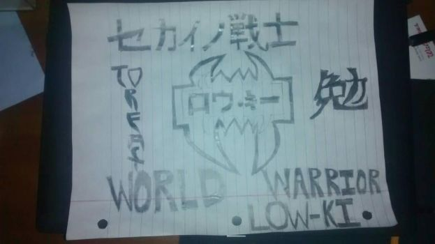 WORLD WARRIOR LOW KI by FoxaBeeNeeOwnYes