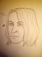 Snape sketch by forcecrush