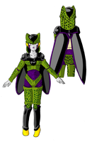 Cell Dragon Girls by reina-del-caos