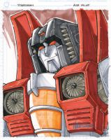 CS starscream by markerguru