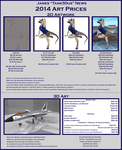 Commission Price List 2014 by Tank50us