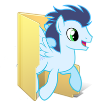 Soarin Folder by Pink618