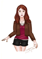 Amy Pond by eclecticmuse