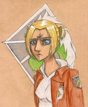 Annie Leonhardt by The-Hugger