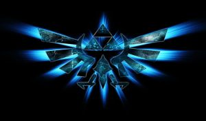 Legend Of Zelda-Triforce(blue) Google Chrome Theme by GoogleChromeThemes