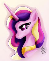 MLP FIM - Princess Cadence Other Style by Joakaha