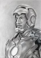 Iron Man - Robert Downey Jr. by Stefans-Artworks