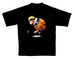Naruto T-Shirt Design by giran23