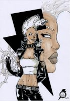 storm old style x-men by tenshiflyers