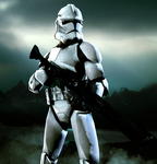 Republic Clone Trooper by LordHayabusa357