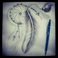 DreamCatcher Quick Sketch by Arte-Animada