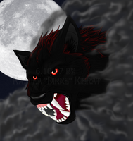 -Werewolf head- by Dirke