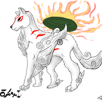 amaterasu by thelionjack