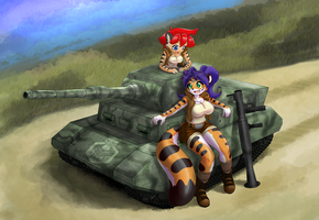 Put some tigers in your tank! by freelancemanga