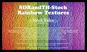 Rainbow Textures 01 Stock by SDRandTH-Stock