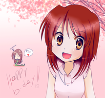 Happy b-day Tsubomiii x3 by KurumiErika