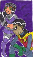 Robin and Nightstar 4 by mmmciaG