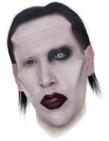 Marilyn GaGa Manson-Father Monster-Mouse Drawing by A-D-I--N-U-G-R-O-H-O