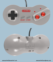 NES 2 Controller by seancantrell