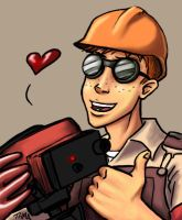 Jonno the Beta Engie by thehotmageaeris