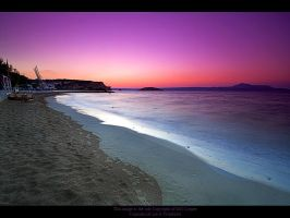 Sunset over Almerida Beach 10 by GMCPhotographics