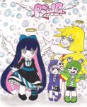 panty and stocking by jazzy1lol