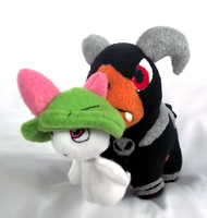 Houndoom Magnet Pokedoll by xBrittneyJane
