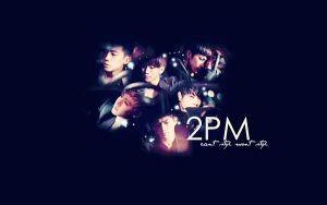2PM Wallpaper II by CrunchyAngel