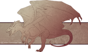 FREE DragonLineart by ulven-f