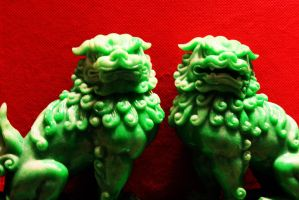 Jabe Lions by VolpeTrickster
