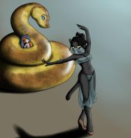 The Snakes harem by lol20