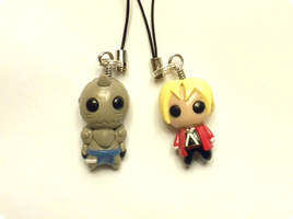 Edward and Alphonse Elric by whitemilkcarton