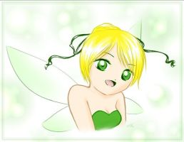 Tinkerbell by shortpinay