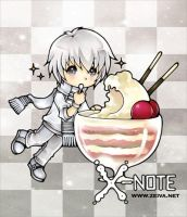 X-note - Sticker III by zeiva