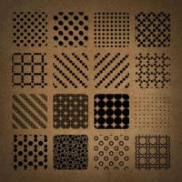 Free Dotted Photoshop Patterns by brushfs