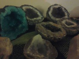 Line of Geodes by LMW-Creations