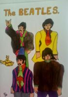The Beatles by philjacobs