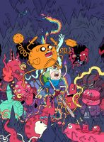 Adventure Time Cover by mrdynamite